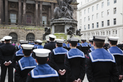 image of navy cadets