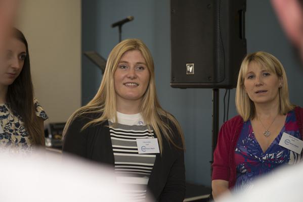 Emily Honey, Polly Krabbe and Rachel Parsons of The Child Brain Injury Trust