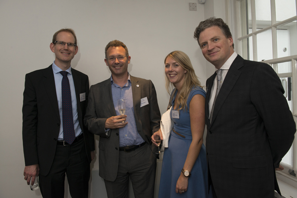 Charles Bagot and Colm Nugent of Hardwicke Chambers with Rob Thomas and Katie Edwards of NewLaw
