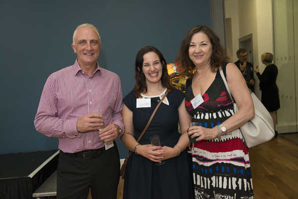 Ian Fulton of Proclaim Care, Michelle Watson of Vista Therapy and Deborah Edwards of Broadspire