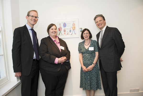 Charles Bagot, Sarah Venn, Dr Maggie Bloom and Colm Nugent of Hardwicke Chambers