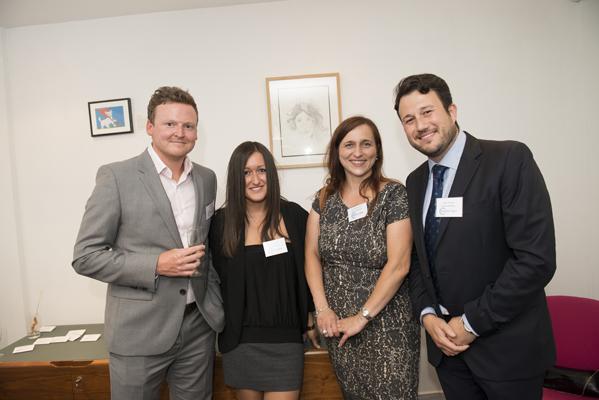 Ryan Lewis of The Nestor Partnership, Dagmara Sztynyk, Isidoro Bonilla and Joanna Mackiewicz of Levenes
