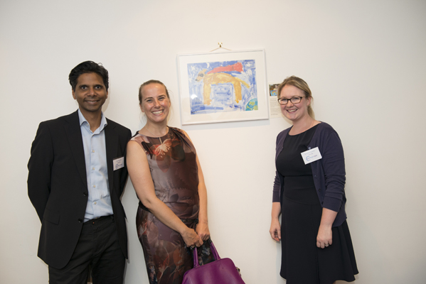 Vijay Ganapathy, Nicola Wainwright and Emmalene Bushnell of Leigh Day & Co