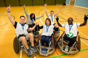 Bolt Burdon Kemp wheelchair rugby winners