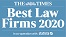 The Times Best Law Firm 2020