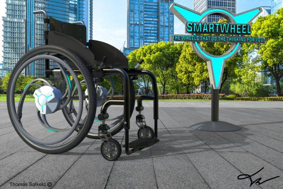 SmartWheel – Winner of Design the Change Competition 2021